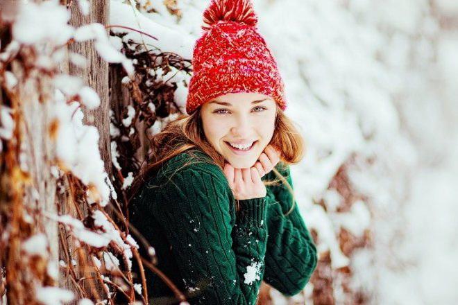 Идеи для фотосессий на улице зимой фото